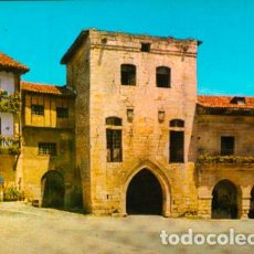 Postales: POSTAL Nº 3 SANTILLANA DEL MAR ( SANTANDER ) TORRE DE LOS BORJAS. Lote 214405086
