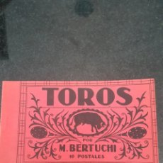 Postales: BLOC DE 10 POSTALES TAUROMAQUIA. Lote 214523592