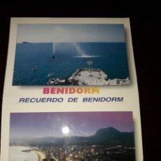 Postales: RECUERDO DE BENIDORM. Lote 217412430