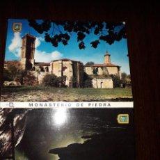 Postales: MONASTERIO DE PIEDRA. Lote 217412543