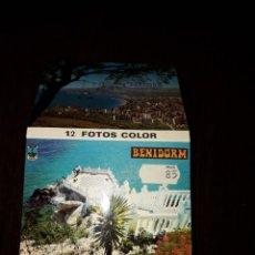 Postales: BENIDORM - 10 X 7.5 CM. Lote 217421230