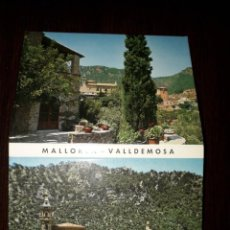 Postales: MALLORCA-VALLDEMOSA 10 X 7.5 CM. Lote 217421411