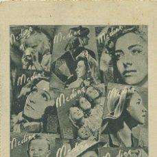 """Postales: SECCIÓN FEMENINA FET Y JONS. SEMANARIO """"MEDINA"""". SIN CIRCULAR.ED.HUECOGRABADO VELÁZQUEZ. Lote 218028151"""