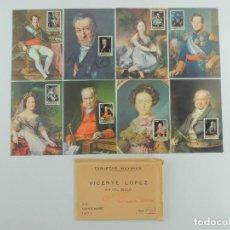Cartes Postales: TARJETAS MAXIMAS 8 POSTALE PRIMER DIA. Lote 219273988