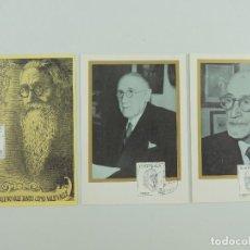 Cartes Postales: TRES POSTALES PRIMER DIA DE CIRCULACION 7 NOVIEMBRE 1966. Lote 219277623