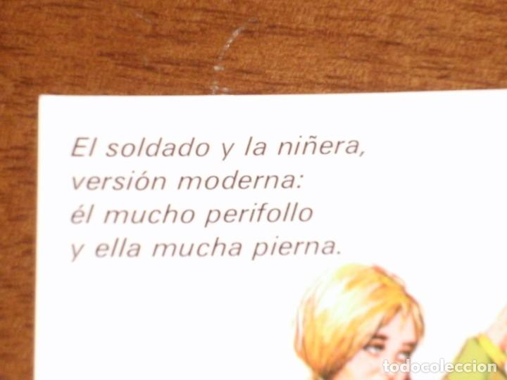 Postales: ANTIGUA POSTAL MILITAR DE LOS AÑOS 60-70 - Foto 3 - 219293377