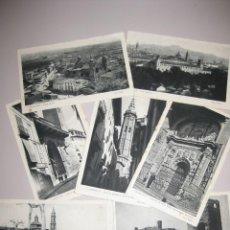 Cartes Postales: CALATAYUD SIETE POSTALES SIN CIRCULAR. Lote 219811685