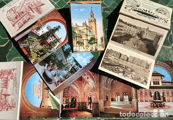 Postales: POSTALES - RECUERDO - SANTANDER / PLAYA ARISTOCRÁTICA - GRANADA / ALHAMBRA / GENERALIFE - SEVILLA - Foto 2 - 220095456