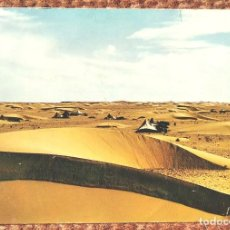 Postales: AAIUN - SAHARA ESPAÑOL - JAIMAS DE NOMADAS EN EL DESIERTO. Lote 220497132