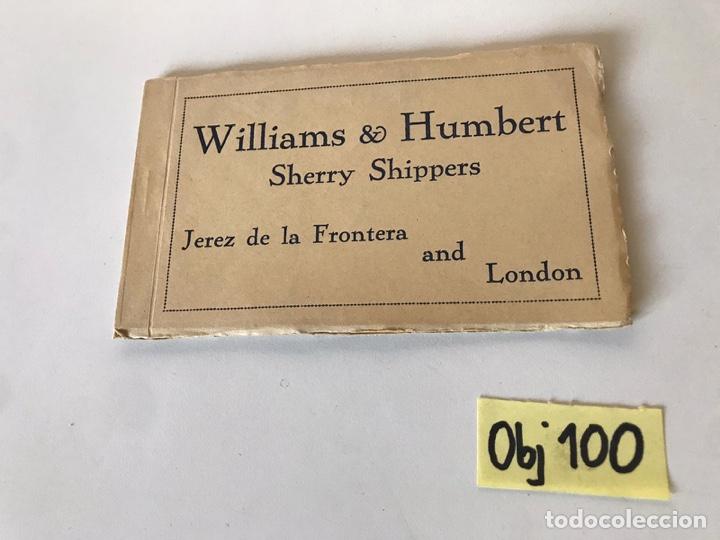 WILLIAMS Y HUMBERT POSTALES (Postales - España - Sin Clasificar Moderna (desde 1.940))