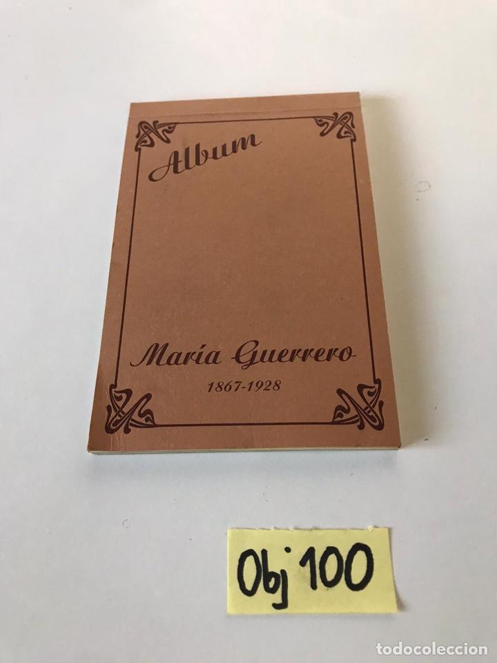 ÁLBUM POSTALES MARIA GUERRERO (Postales - España - Sin Clasificar Moderna (desde 1.940))
