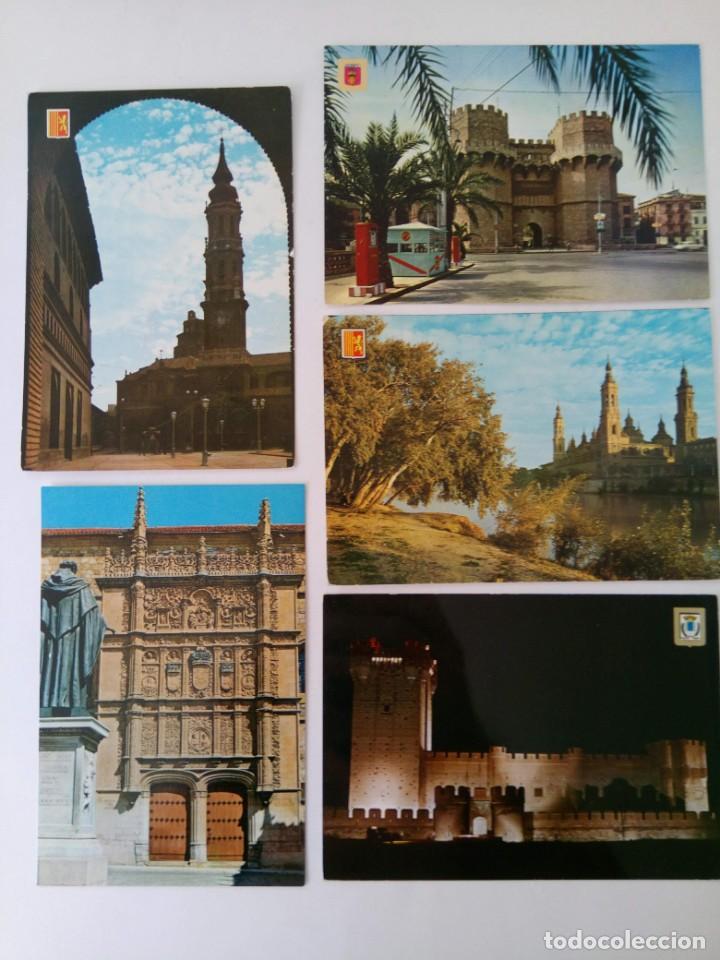 Postales: LOTE 15 POSTALES MONUMENTOS DE ESPAÑA - Foto 2 - 221471691