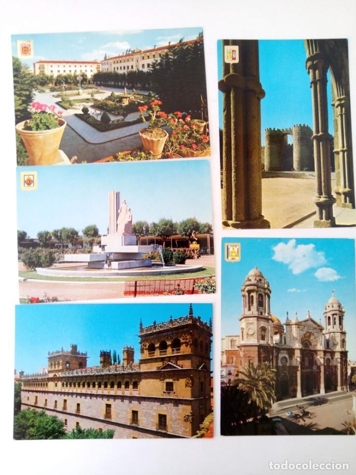 Postales: LOTE 15 POSTALES MONUMENTOS DE ESPAÑA - Foto 3 - 221471691