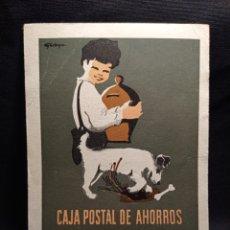 Postales: TARJETA POSTAL CAJA POSTAL DE AHORROS LEER DESCRIPCION. Lote 221707896