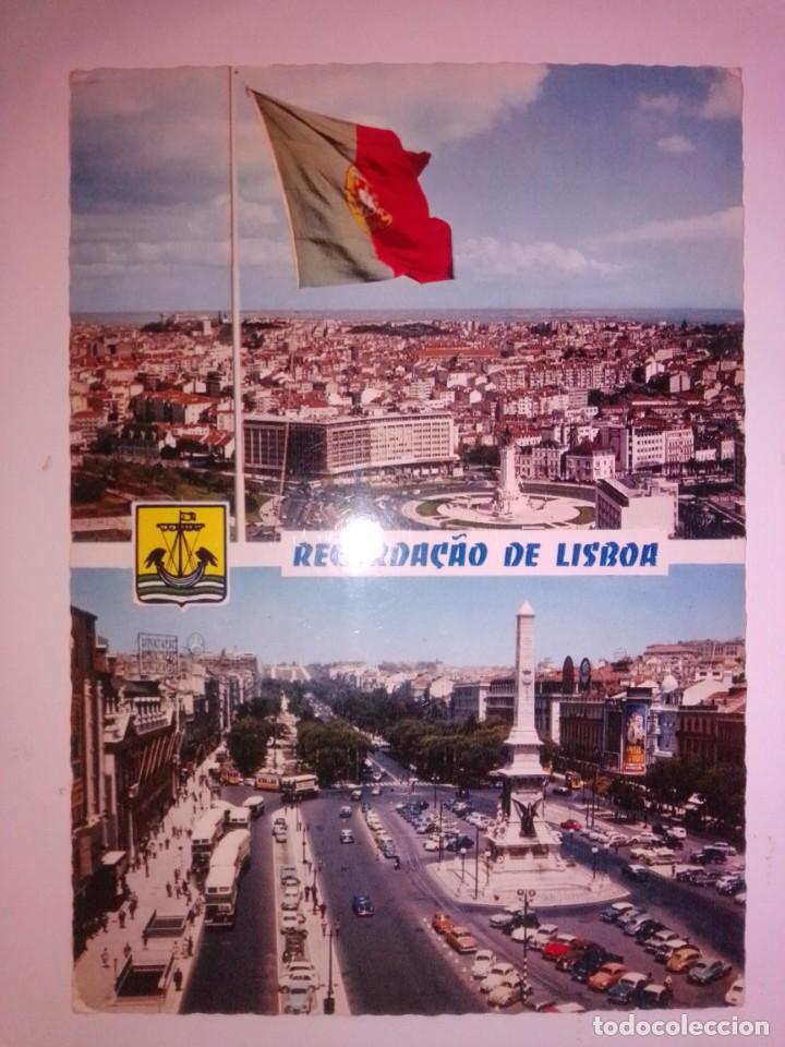 POSTAL ANTIGUA ESCRITA Y CON SELLO (Postales - España - Sin Clasificar Moderna (desde 1.940))