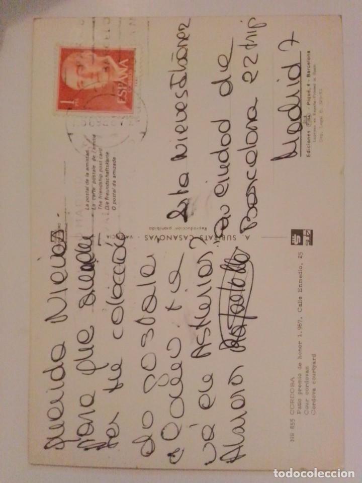 Postales: Postal antigua escrita y con sello - Foto 2 - 221734620