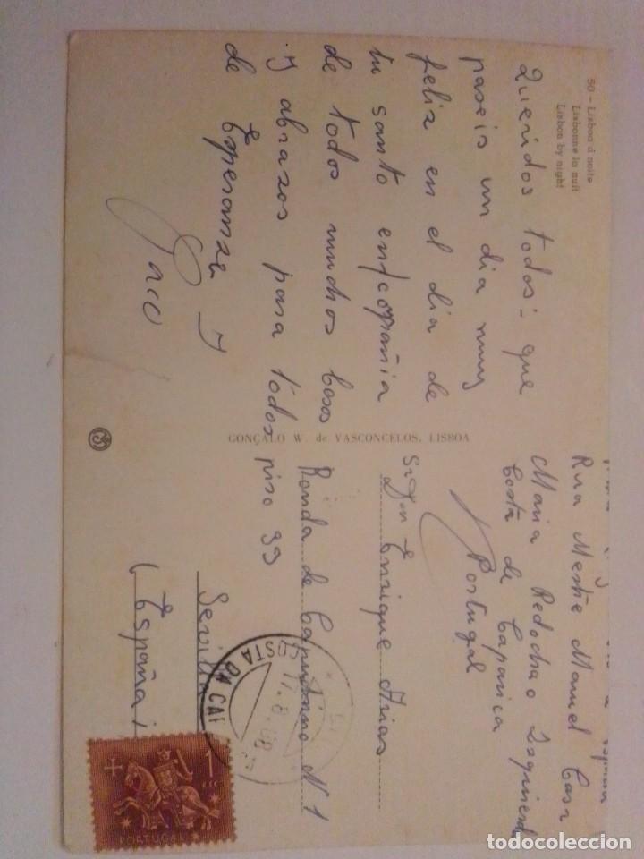 Postales: Postal antigua escrita y con sello - Foto 2 - 221734672