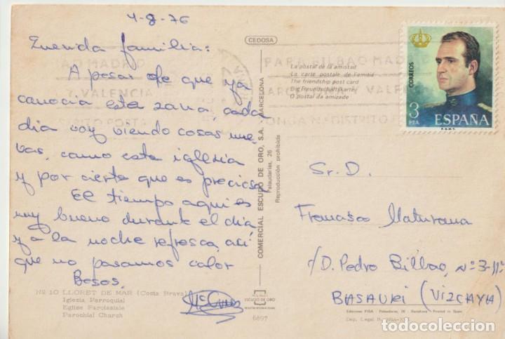 Postales: Postal antigua escrita - Foto 2 - 221734746