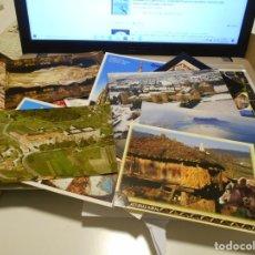 Postales: LOTE DE 24 POSTALES DE ESPAÑA: VALENCIA, BARCELONA, TORTOSA, ABADIA DE POBLET, REUS, COSTA DOURADA,. Lote 222070097