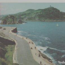 Postales: LOTE A-POSTAL SAN SEBASTIAAN AÑO 1960 MATA SELLOSMATA SELLOS. Lote 222580103
