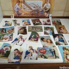 Postales: 23 POSTALES AÑOS 60. Lote 222916356