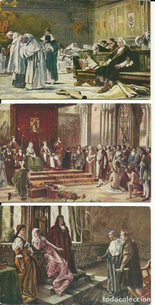 35 TARJETAS POSTALES , MONARQUIA ESPAÑOLA (Postales - España - Sin Clasificar Moderna (desde 1.940))