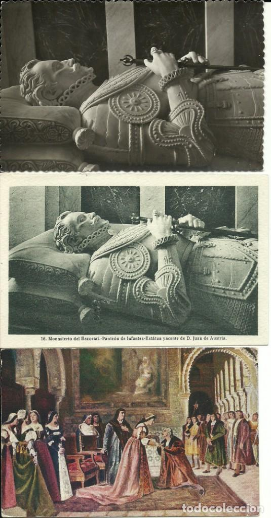 Postales: 35 Tarjetas Postales , Monarquia española - Foto 2 - 224423795
