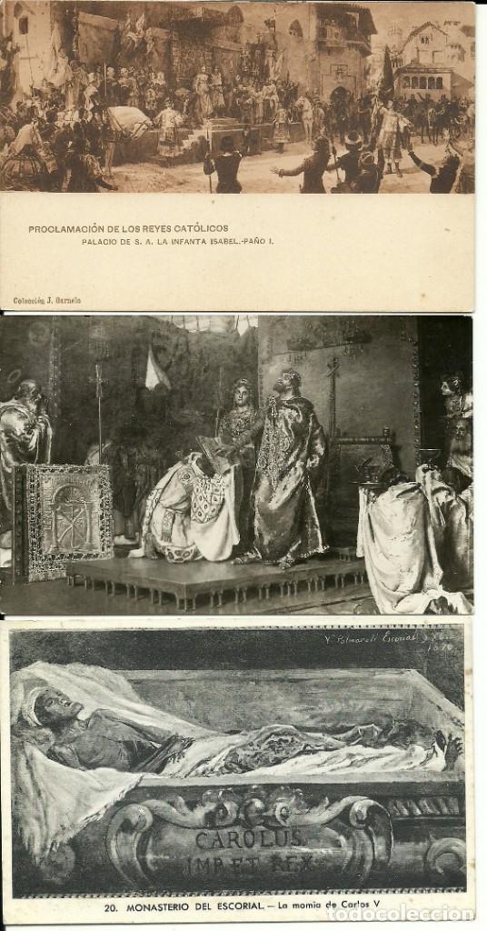 Postales: 35 Tarjetas Postales , Monarquia española - Foto 3 - 224423795