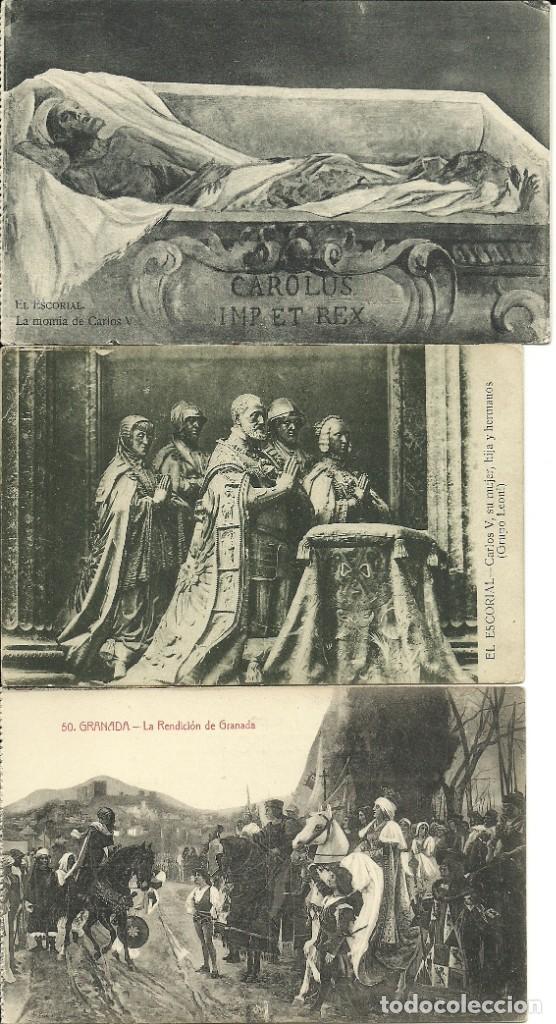 Postales: 35 Tarjetas Postales , Monarquia española - Foto 4 - 224423795