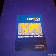 Postales: POSTAL SEVILLA EXPO 92. Lote 224723702