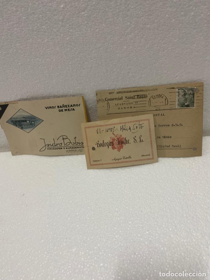 Postales: Tarjetas postales de bodegas - Foto 2 - 225610060
