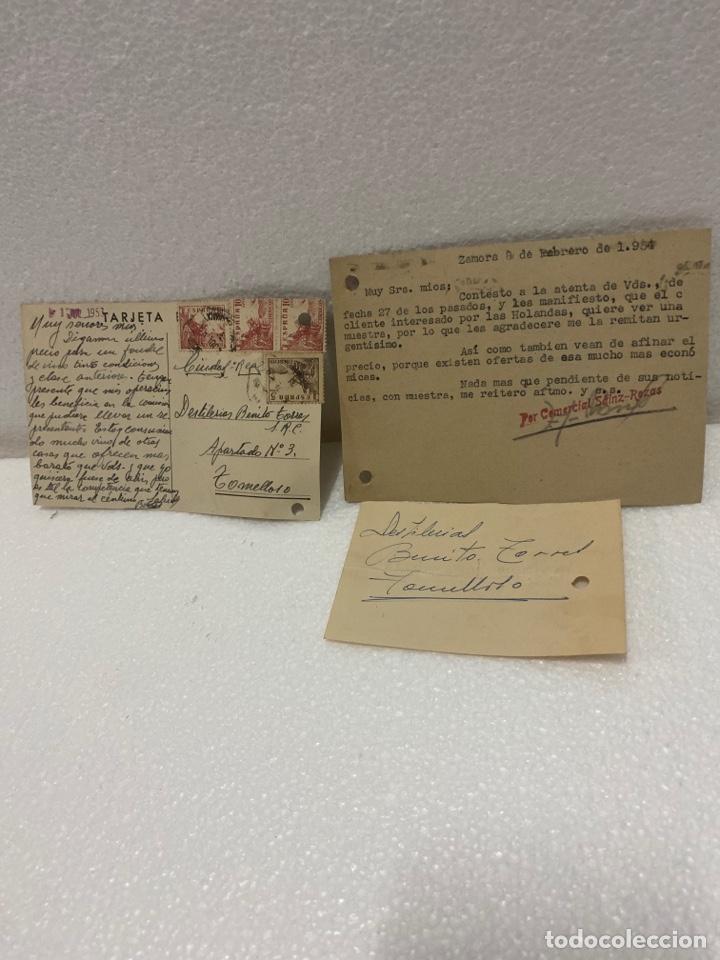 Postales: Tarjetas postales de bodegas - Foto 3 - 225610060