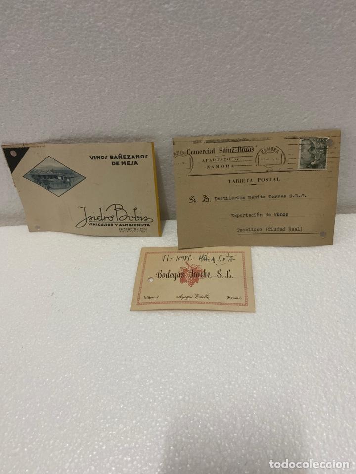 TARJETAS POSTALES DE BODEGAS (Postales - España - Sin Clasificar Moderna (desde 1.940))