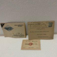 Postales: TARJETAS POSTALES DE BODEGAS. Lote 225610060