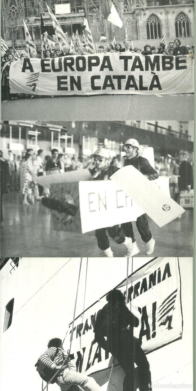 4182.-CRIDA A LA SOLIDARITAT EN DEFENSA DE LA LLENGUA LA CULTURA I LA NACIÓ CATALANES-POSTALS (Postales - España - Sin Clasificar Moderna (desde 1.940))