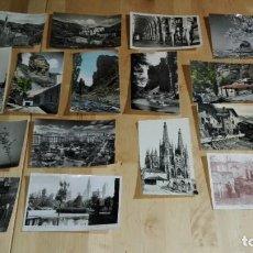 Postales: 47 POSTALES EN B/N Y COLOREADAS ESPAÑOLAS Y EXTRANJERAS. Lote 227597980
