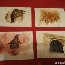 Postales: POSTALES CAMINOS DE SEFARAD. Lote 229110155