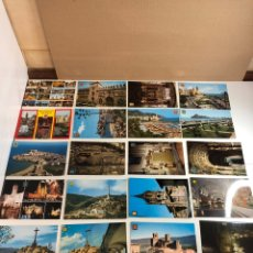 Postales: POSTAL LOTE DE COLECCIÓN DE 131 POSTALES (EDITA ESCUDO DE ORO) SIN ESCRIBIR. Lote 233507965