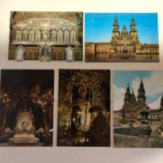 Postales: 5 POSTALES DE SANTIAGO DE COMPOSTELA. Lote 234434390