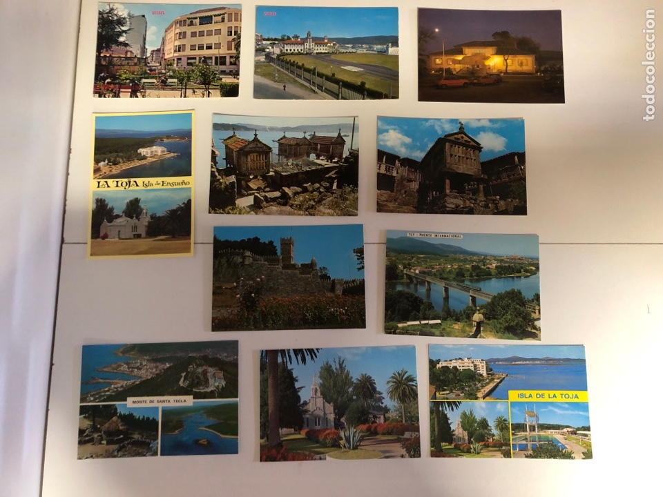Postales: 16 postales de Marin,Toja,Tuy y Rajo (Pontevedra) - Foto 2 - 234436680