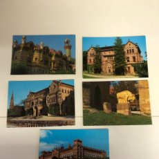 Postales: 5 POSTALES DE COMILLAS. Lote 234436820