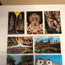 Postales: 7 POSTALES DE SEVILLA. Lote 234437280