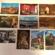 Postales: 10 POSTALES DE SEGOVIA. Lote 234437545