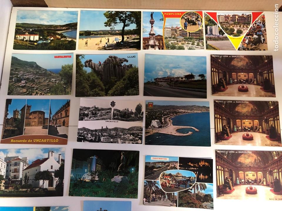 Postales: 18 postales de ciudades y pueblos de españa 1 de ellas está escrita - Foto 2 - 234441145