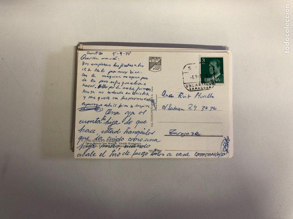 Postales: 18 postales de ciudades y pueblos de españa 1 de ellas está escrita - Foto 5 - 234441145