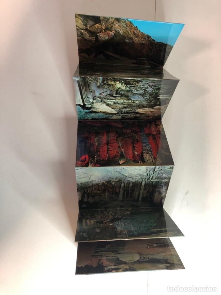Postales: Bloc postal con 9 postales de la cueva de artá (Mallorca) - Foto 2 - 234621590