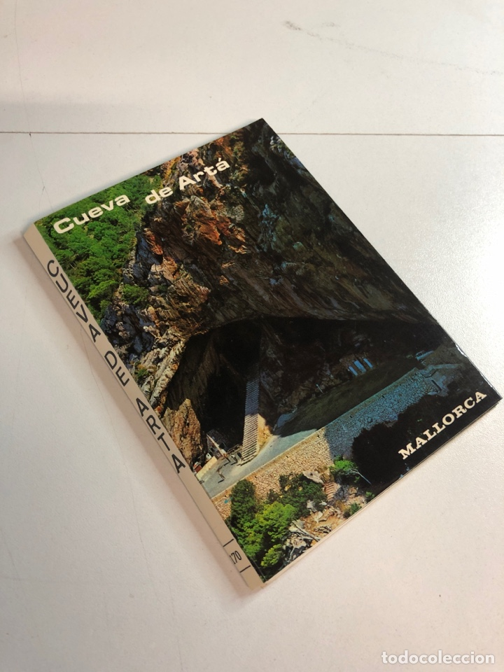 BLOC POSTAL CON 9 POSTALES DE LA CUEVA DE ARTÁ (MALLORCA) (Postales - España - Sin Clasificar Moderna (desde 1.940))