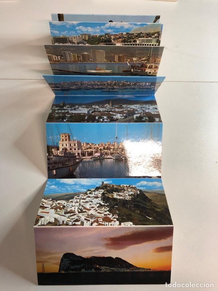 Postales: Bloc acordeón de 14 fotografías de la costa de el sol - Foto 3 - 234621870