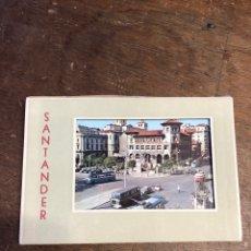 Postales: 10 TARJETAS POSTALES EN ACORDEÓN TROQUELADAS DE SANTANDER. Lote 234630105