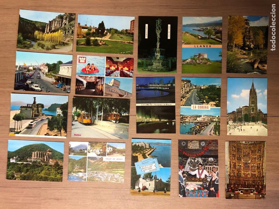 Postales: Postal 68 postales de diferentes sitios de España 2 de ellas están escritas - Foto 4 - 234806050